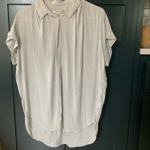 Madewell pinstriped central shirt